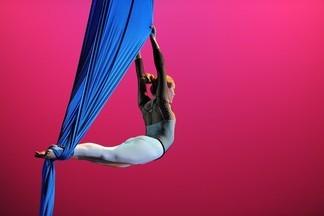 Гимнастика на воздушных полотнах в спортивной школе РЕКОРД