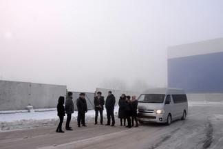 Роман Кравченко проконтролировал уборку улиц в ходе планового объезда района
