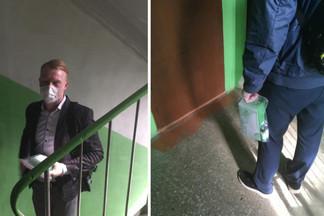На Уралмаше непонятные парни ходят по квартирам и продают маски за 2000 рублей