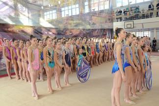 Глава Администрации Роман Кравченко открыл Чемпионат Уральского округа по художественной гимнастике