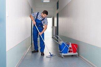 Требуется уборщик служебных помещений