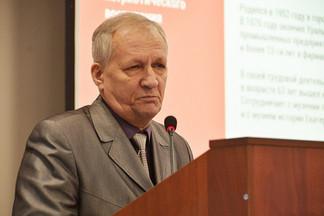 Председателем Совета ветеранов Орджоникидзевского района избран Николай Сергеев