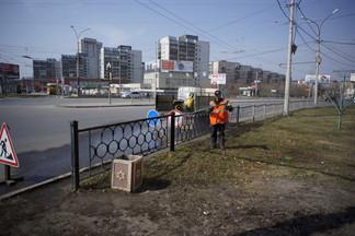 Чистота проспекта Космонавтов обойдется мэрии в 13 миллионов рублей