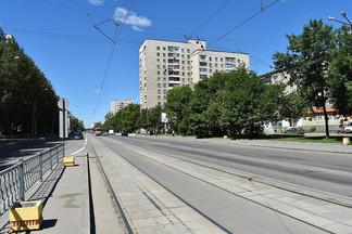 В начале июля на три дня закроется движение трамваев по улице Победы