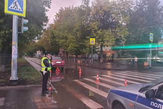 На Уралмаше сбили девочку на пешеходном переходе