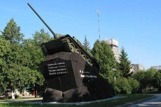 70 лет назад последняя уралмашевская СУ-100 своим ходом взошла на постамент на заводской площади