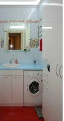 Мебель, декор ПРЕМЬЕРА Мебель для ванной комнаты (белый глянец)
