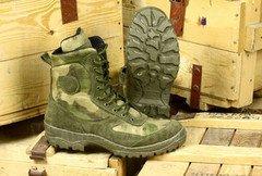 """Обувь мужская М-65 Ботинки с высоким берцем """"Рысь"""" 2801"""