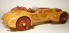 """Fabrika Masterov """"Болид для Королевы"""" модель авто ручной работы"""