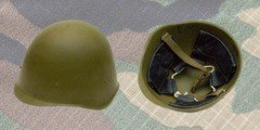 Магазин спецодежды М-65 Стальной шлем СССР образца 40 года