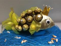 Магазины подарков ФЛОРИСТЕКБ.РФ Золотая рыбка маленькая