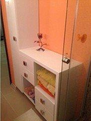 Мебель, декор ПРЕМЬЕРА Мебель для ванной комнаты белая