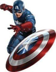 Детский праздник ЧУДЕСНЫЙ МИР Капитан-Америка