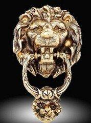 """Fabrika Masterov Дверной молоток (стучалка) """"LION"""""""