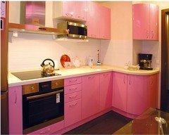 Мебель, декор ПРЕМЬЕРА Мебель для кухни розовая