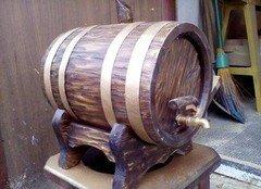 Fabrika Masterov Бочонок деревянный для пива вина самогонки