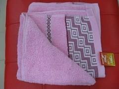 Магазин товаров для дома Магазин товаров для дома ЭКОНОМАРКЕТ Полотенце махровое розовое