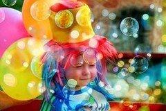 Детский праздник ЧУДЕСНЫЙ МИР Шоу Мыльных Пузырей
