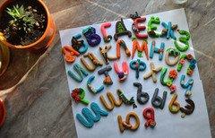 Fabrika Masterov Алфавит для детей - набор магнитов