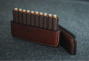 Fabrika Masterov Аскетичный кожаный портсигар - фото 3