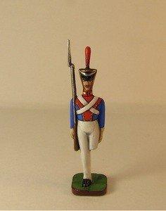 Fabrika Masterov Стойкий оловянный солдатик. Оловянная миниатюра. 45 мм - фото 1