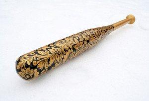 Fabrika Masterov Бейсбольная бита с ручной росписью - фото 1