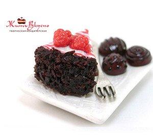 "Fabrika Masterov Магнит ""Торт с шоколадными конфетами"" - фото 5"