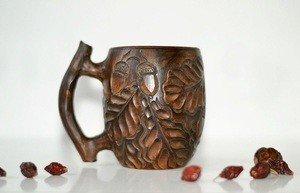 Fabrika Masterov Новая кофейная чашка ручной работы Дубы-колдуны - фото 4
