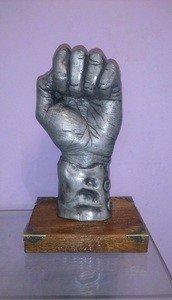 Fabrika Masterov Статуэтка Скульптура Кулак Власти - фото 1