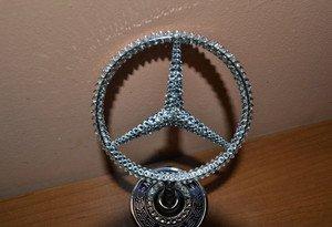 "Fabrika Masterov Эмблема ""Mercedes-Benz"" с кристаллами Swarovski - фото 2"