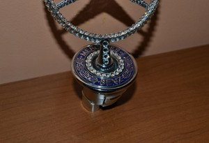 "Fabrika Masterov Эмблема ""Mercedes-Benz"" с кристаллами Swarovski - фото 3"