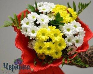 Магазин цветов Черника Букет Солнечный - фото 1
