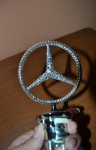 "Fabrika Masterov Эмблема ""Mercedes-Benz"" с кристаллами Swarovski - фото 4"