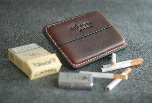 Fabrika Masterov Аскетичный кожаный портсигар - фото 1