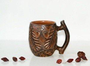 Fabrika Masterov Новая кофейная чашка ручной работы Дубы-колдуны - фото 2