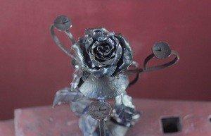 Fabrika Masterov Подсвечник кованый с розами - фото 4