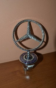 "Fabrika Masterov Эмблема ""Mercedes-Benz"" с кристаллами Swarovski - фото 5"