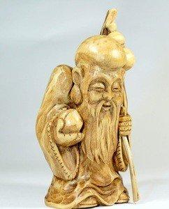 Fabrika Masterov Китайский бог счастья, долголетия и здоровья Шоу-Син - фото 2