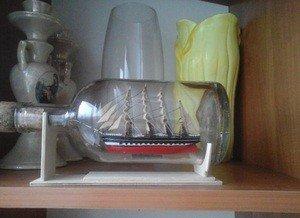 Fabrika Masterov Корабль в бутылке Крузенштерн - фото 3