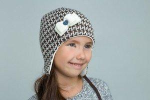 Jumbi Зимняя шапка с рисунком с завязками - фото 1