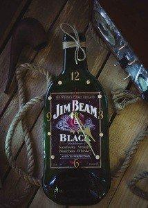 "Fabrika Masterov Бутылка-часы ""Виски Блек"" - фото 1"