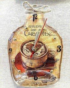 """Fabrika Masterov Часы-бутылка """"Счастье"""" - фото 4"""