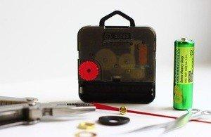 """Fabrika Masterov оригинальный подарок, настенные часы """"Сектор газа"""" из пластинки - фото 2"""