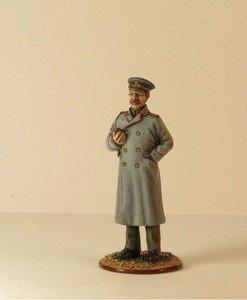 Fabrika Masterov Иосиф Сталин. Оловянная миниатюра в росписи. 54 мм - фото 3