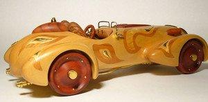 """Fabrika Masterov """"Болид для Королевы"""" модель авто ручной работы - фото 1"""