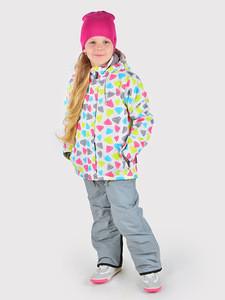 Crockid Комплект мембранный зимний для девочки Crockid ВК 20032/н2 (полукомбинезон и куртка) - фото 1