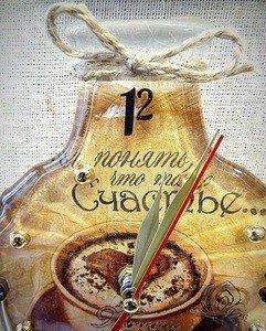 """Fabrika Masterov Часы-бутылка """"Счастье"""" - фото 3"""