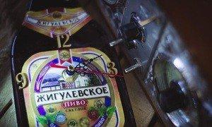 """Fabrika Masterov Бутылка-часы """"Жигулевское пиво"""" - фото 4"""