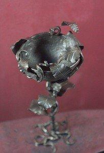 Fabrika Masterov Кованый кубок с листьями - фото 3