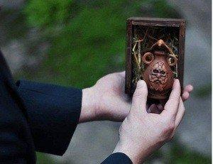Fabrika Masterov Масло для бороды в керамической амфоре и в деревянной - фото 2